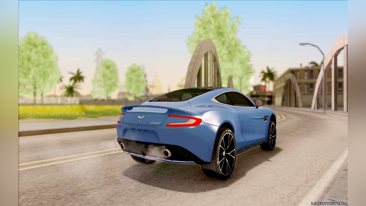 Aston Martin Vanquish 2013 Road version для GTA San Andreas - скриншот #3