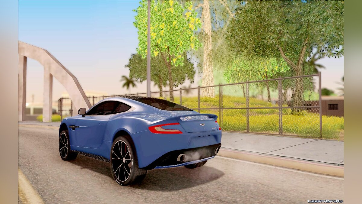 Aston Martin Vanquish 2013 Road version для GTA San Andreas - скриншот #7