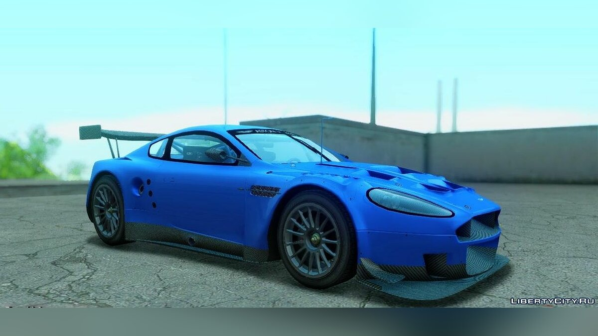 Aston Martin Racing DBR9 для GTA San Andreas