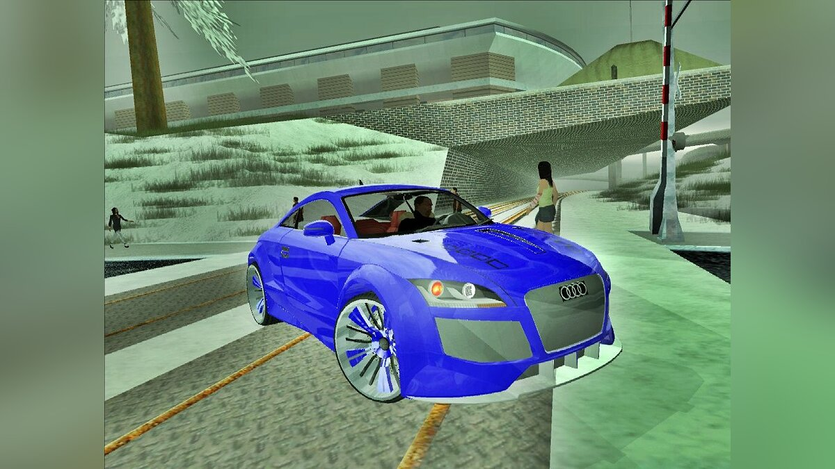 Audi TT 2007 Super Tunned для GTA San Andreas