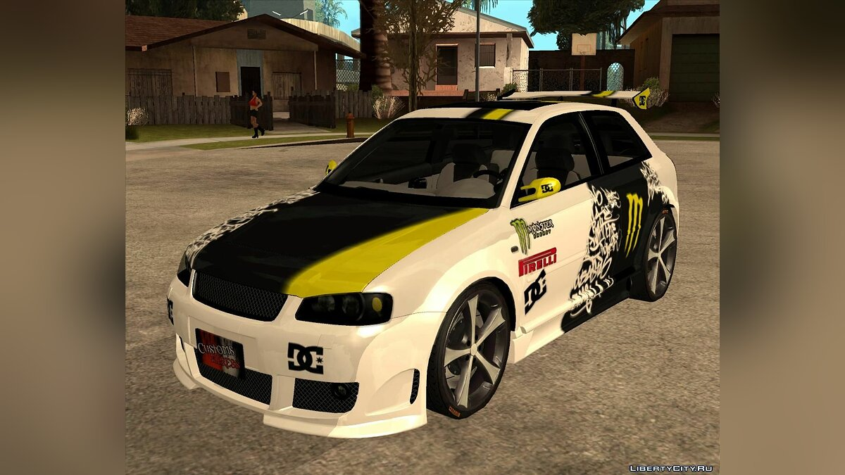 Audi S3 Monster Energy для GTA San Andreas - Картинка #1