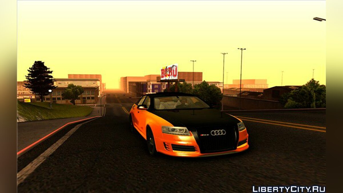Audi RS6 *Black Edition* для GTA San Andreas