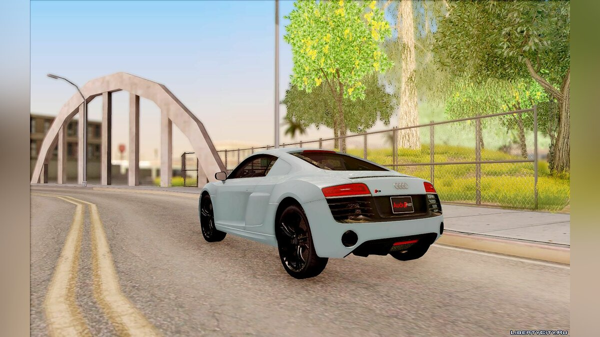 Audi R8 V10 Plus Coupe для GTA San Andreas - скриншот #8