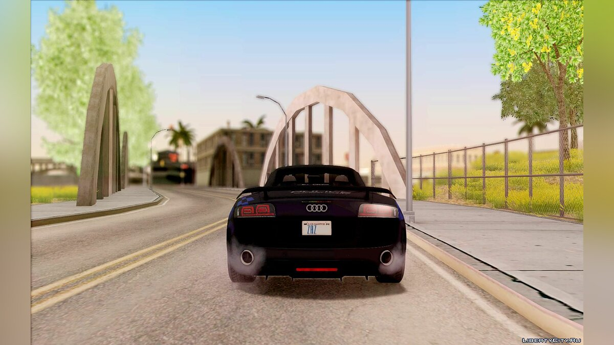Audi R8 High Speed Police для GTA San Andreas - скриншот #3