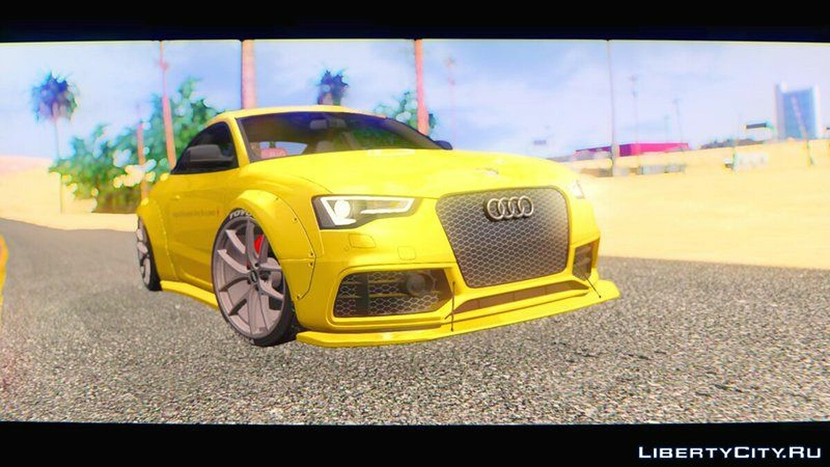 Машина Audi Audi RS5 Liberty Walk Works 2014 для GTA San Andreas