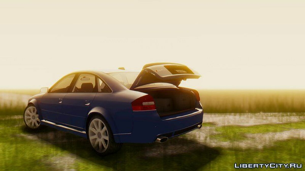 ��ашина Audi Audi RS6 C5 2002 [Paintjobs|Template|HQ] для GTA San Andreas