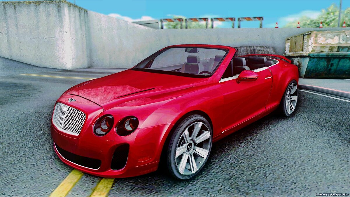 Bentley Continental SS [fix] для GTA San Andreas
