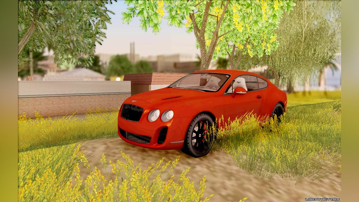Bentley Continental SS Dubai Edition для GTA San Andreas