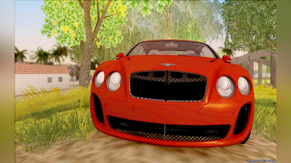 Bentley Continental SS Dubai Edition для GTA San Andreas - скриншот #3