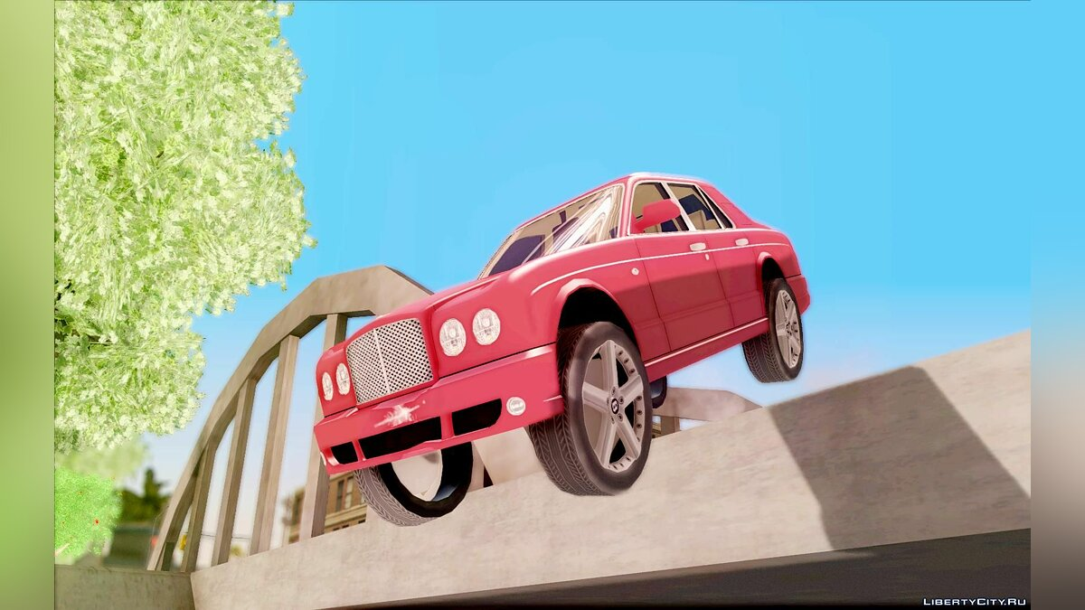 Bentley Arnage для GTA San Andreas - скриншот #2