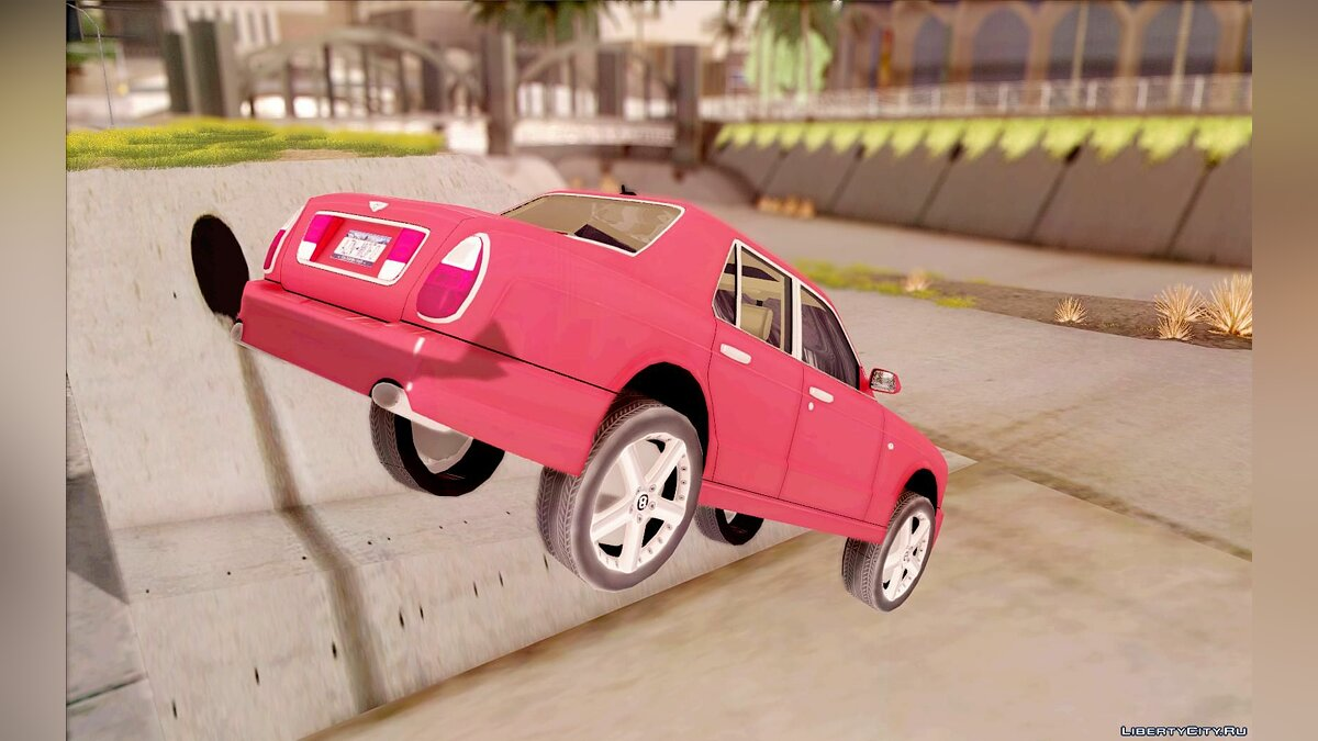 Bentley Arnage для GTA San Andreas - скриншот #5