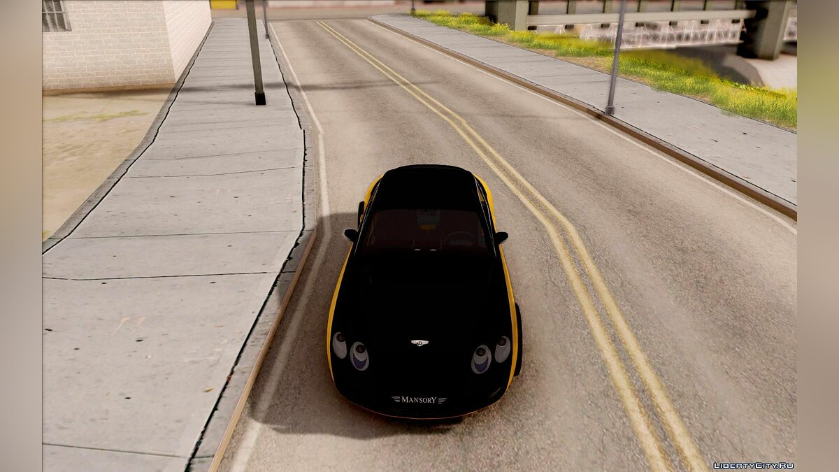 Машина Bentley Bentley Continental GT Mansory для GTA San Andreas