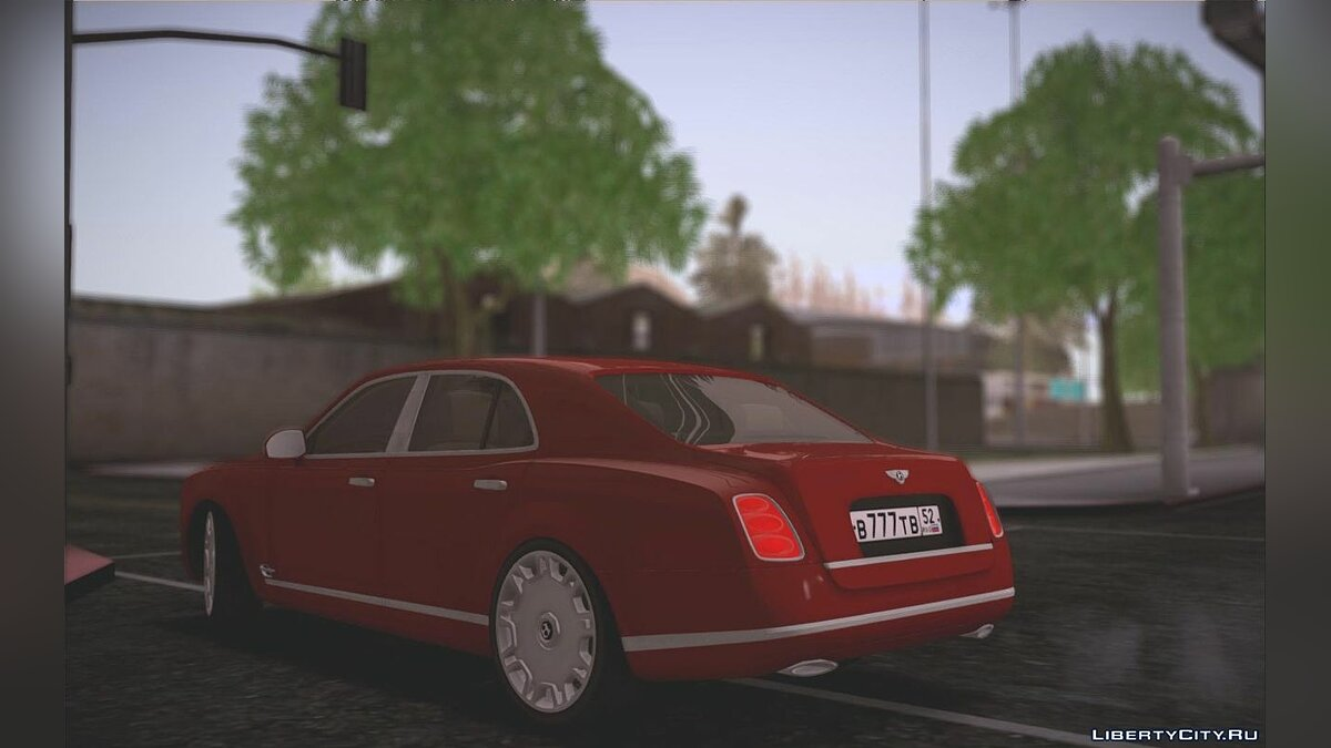 Машина Bentley Bentley Mulsane для GTA San Andreas