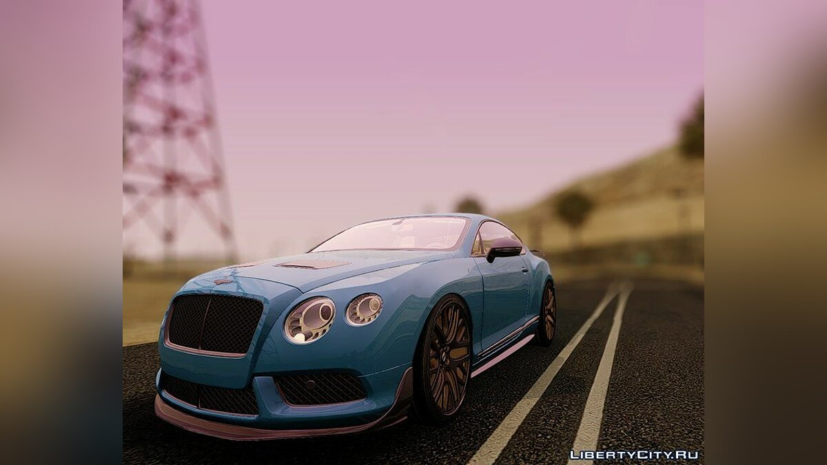 Машина Bentley 2015 Bentley Continental GT3-R-2015 для GTA San Andreas