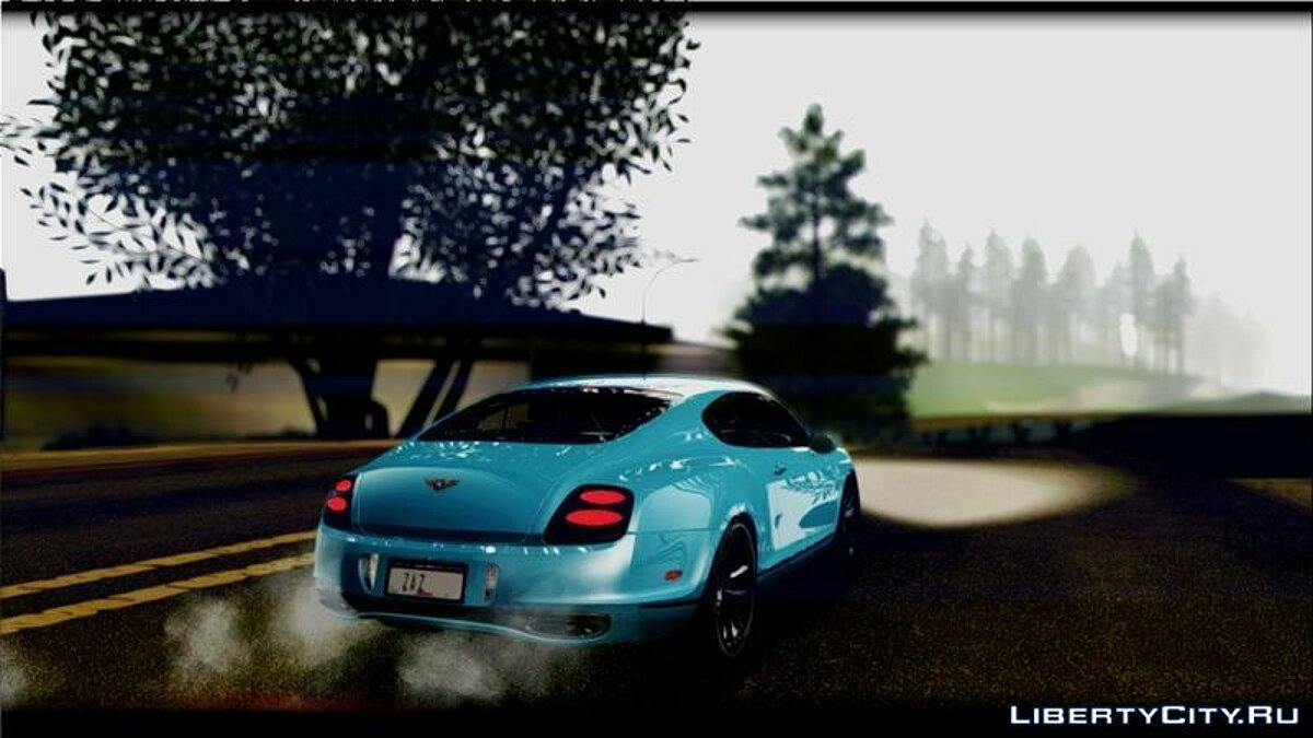 2010 Bentley Continental SuperSports для GTA San Andreas - скриншот #2