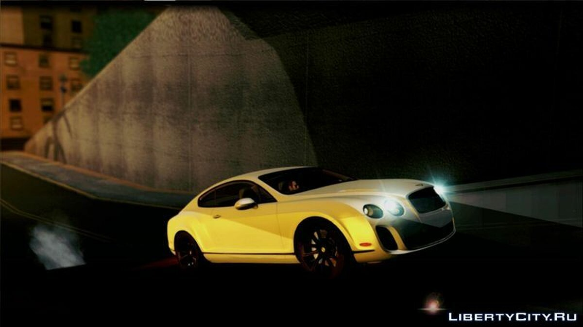 2010 Bentley Continental SuperSports для GTA San Andreas - скриншот #3