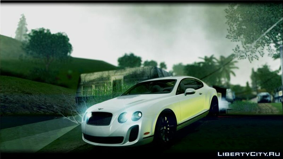 2010 Bentley Continental SuperSports для GTA San Andreas - скриншот #4