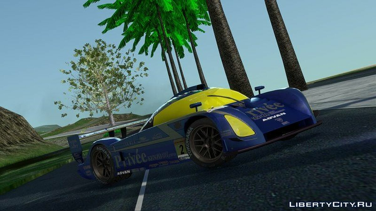 Машина Bentley Bentley Privee KENZO Asset Shiden Super GT для GTA San Andreas