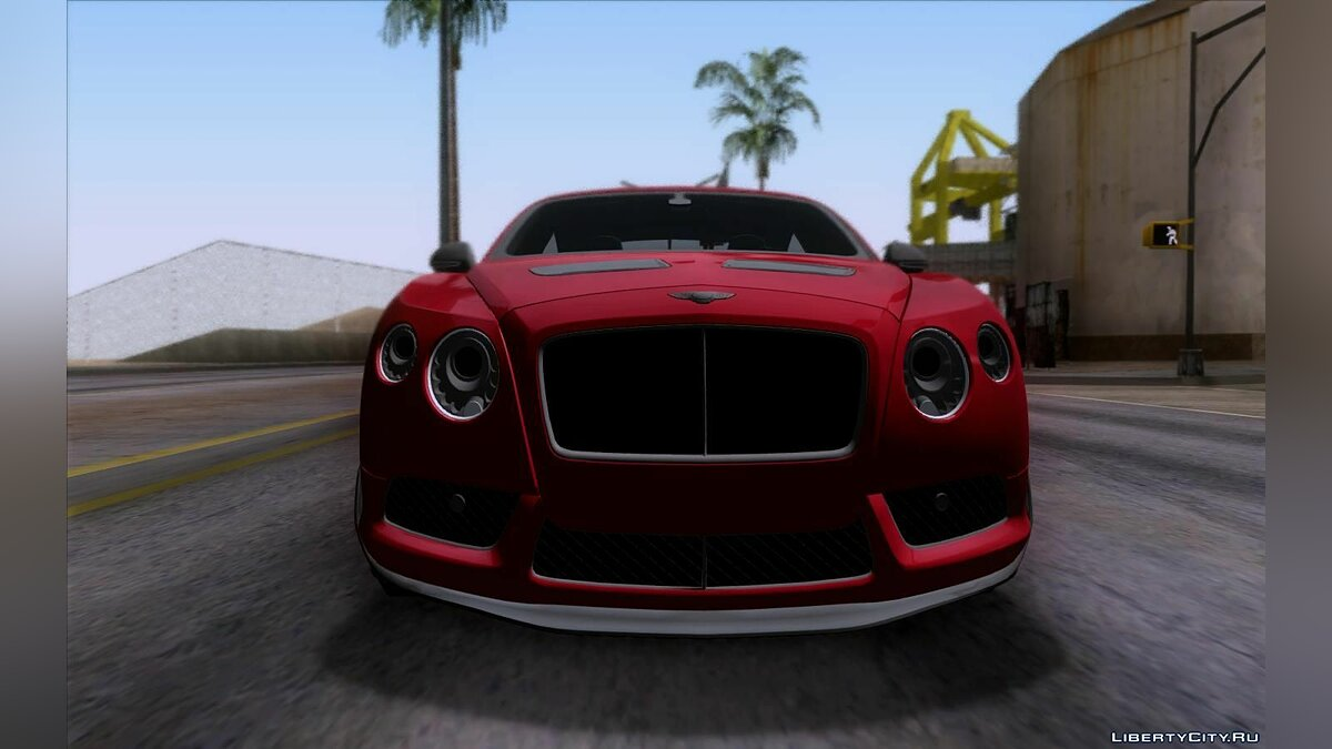 Машина Bentley Bentley Continental GT3R 2015 для GTA San Andreas