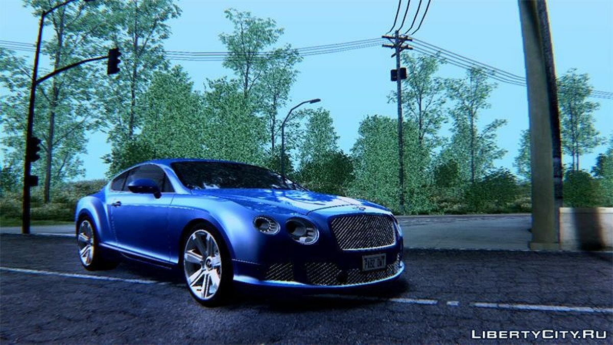 2011 Bentley Continental GT Final для GTA San Andreas - скриншот #3