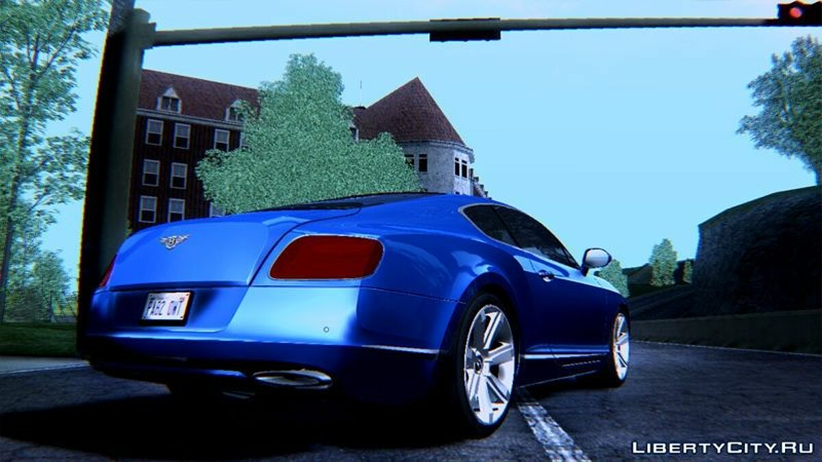 2011 Bentley Continental GT Final для GTA San Andreas - скриншот #2