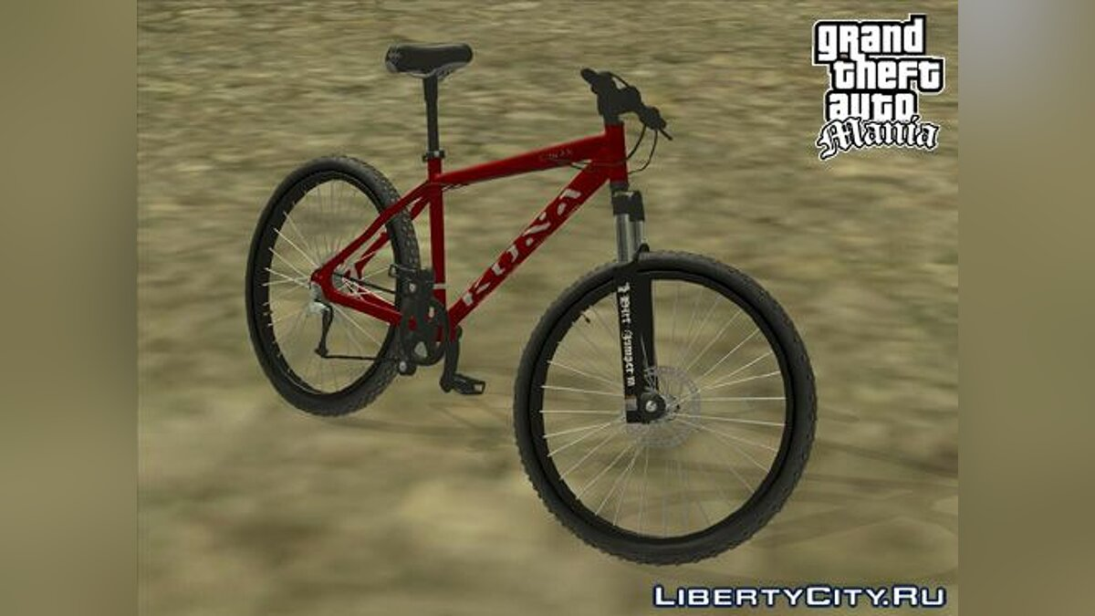 VTT Kona Cowan Mountain Bike для GTA San Andreas