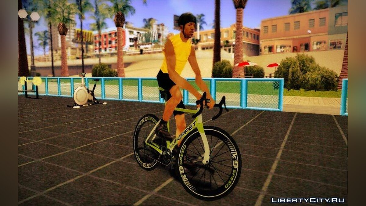 ��елосипед GTA V Whippet Race Bike для GTA San Andreas
