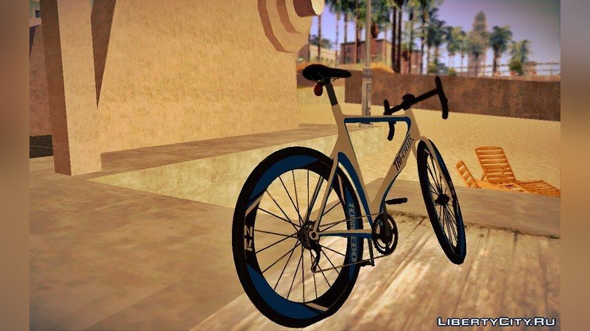 ��елосипед GTA V Tri-Cycles Race Bike для GTA San Andreas