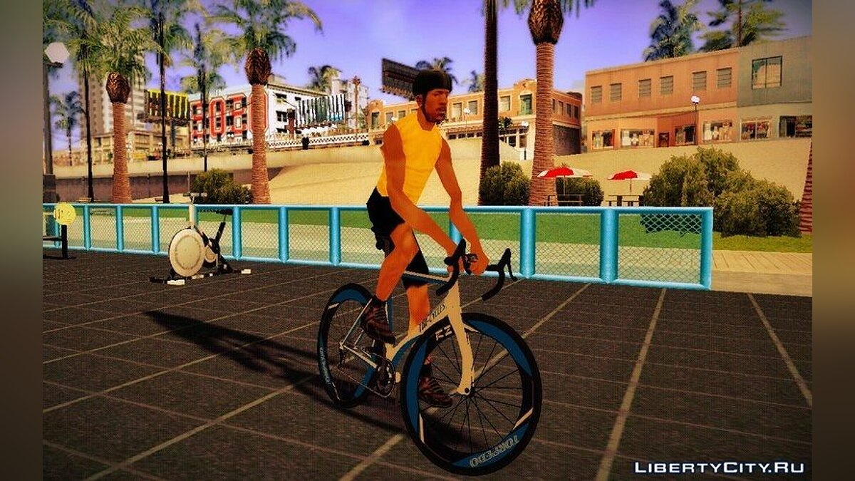 Велосипед GTA V Tri-Cycles Race Bike для GTA San Andreas