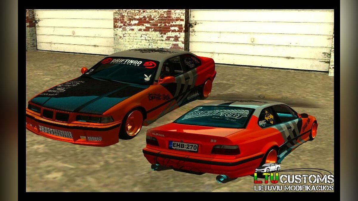 BMW Alpina B8 WideBody для GTA San Andreas