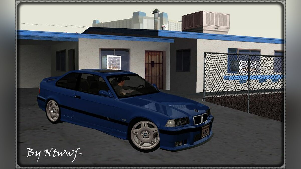 BMW M3 E36 Coupe - Stock (Fix) для GTA San Andreas