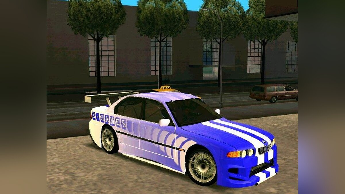 BMW 730i X-Games Tuning для GTA San Andreas