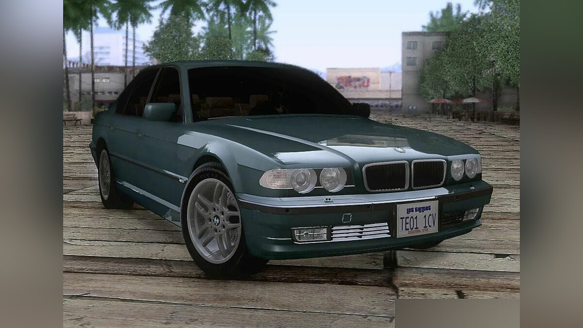 BMW 750i (E38) 2001 M-Packet v1.0 для GTA San Andreas