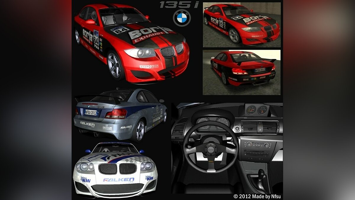 BMW 135i Coupe Road Edition для GTA San Andreas