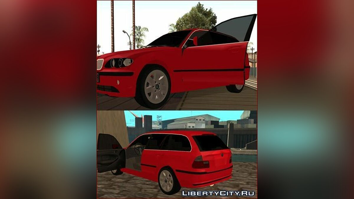 BMW Series 3 e46 Touring для GTA San Andreas