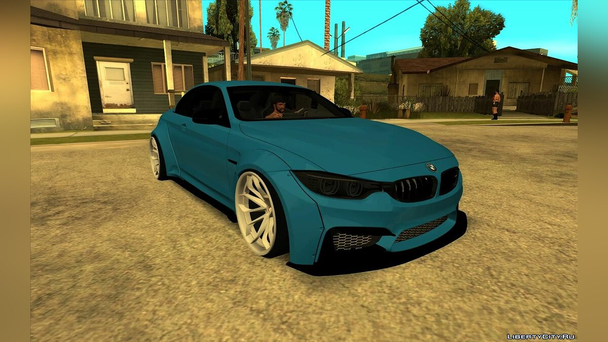 Машина BMW BMW M4 Cabrio Wide Body для GTA San Andreas