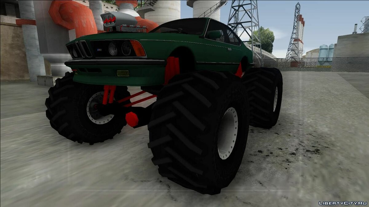 Машина BMW BMW E24 M635 CSi Monster Truck для GTA San Andreas