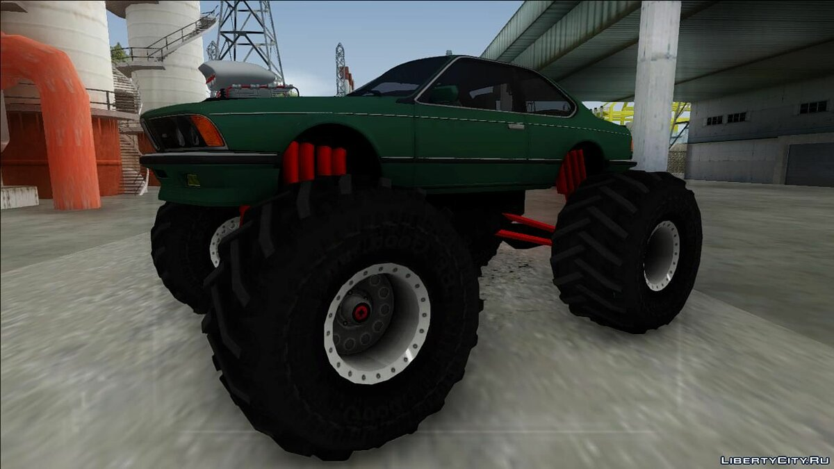 ��ашина BMW BMW E24 M635 CSi Monster Truck для GTA San Andreas