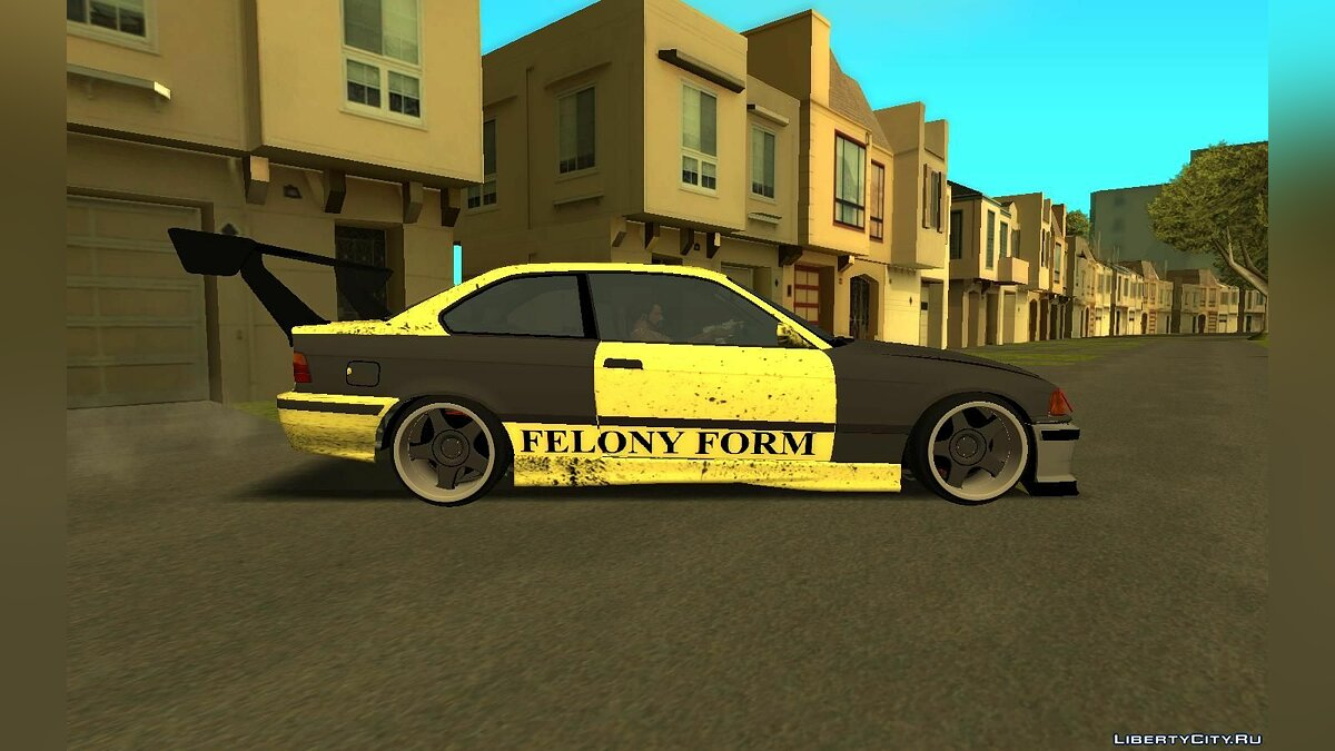 Машина BMW BMW e36 Felony Form для GTA San Andreas