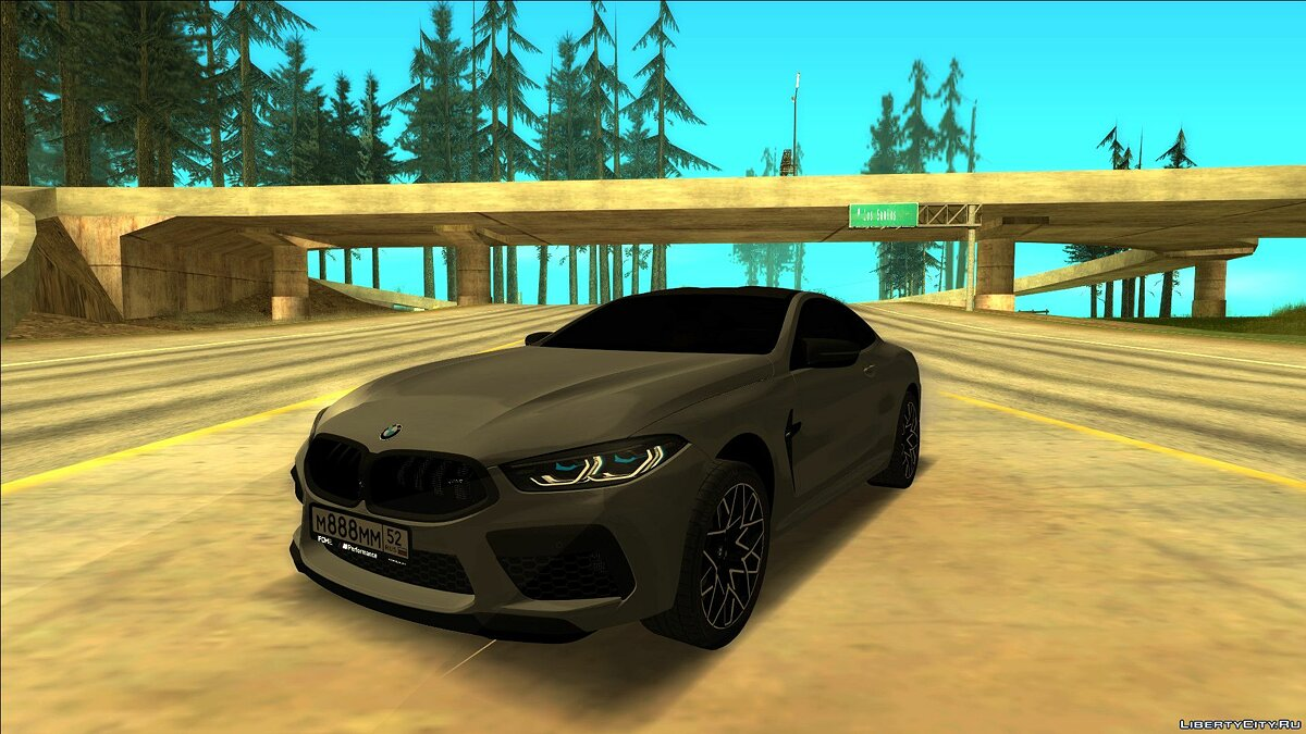 Машина BMW BMW M8 Competition для GTA San Andreas