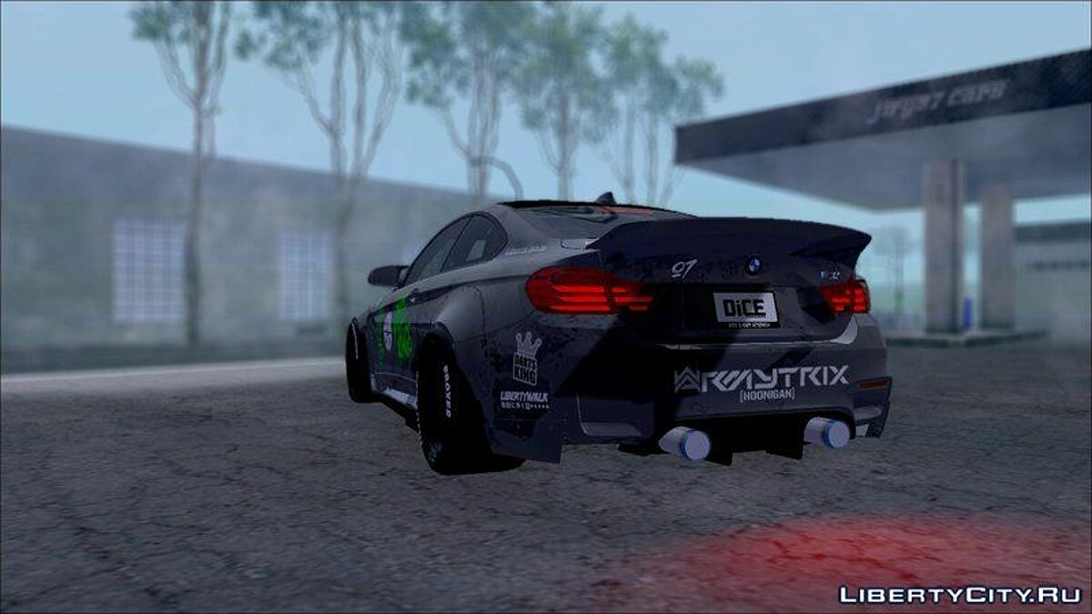 BMW M4 LB WALK Team-DiCE для GTA San Andreas - скриншот #5