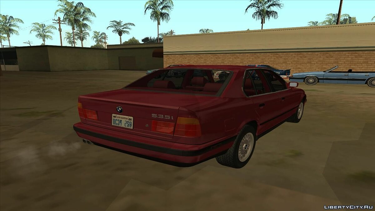 ��ашина BMW 1993 BMW 535i (E34) US-Spec для GTA San Andreas