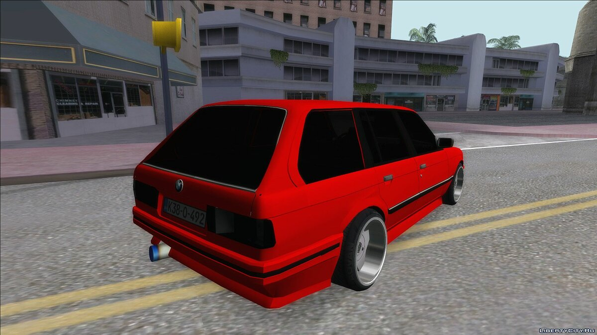 Машина BMW BMW 3 Series E30 Touring 3.8 BiTurbo для GTA San Andreas