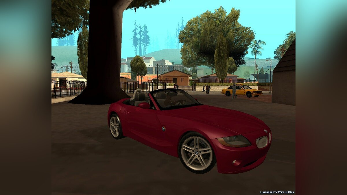 BMW Z4 V10 Black Revel для GTA San Andreas