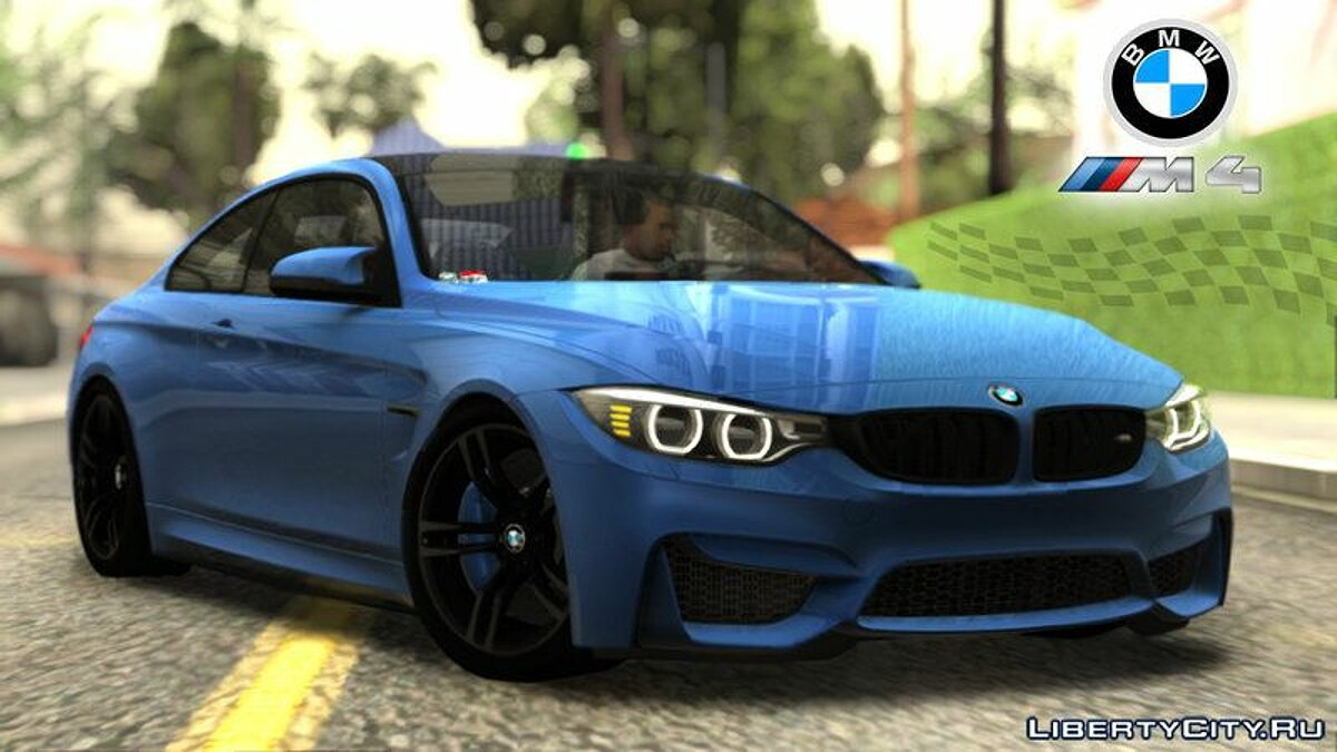 ��ашина BMW BMW M4 GTS High Quality для GTA San Andreas