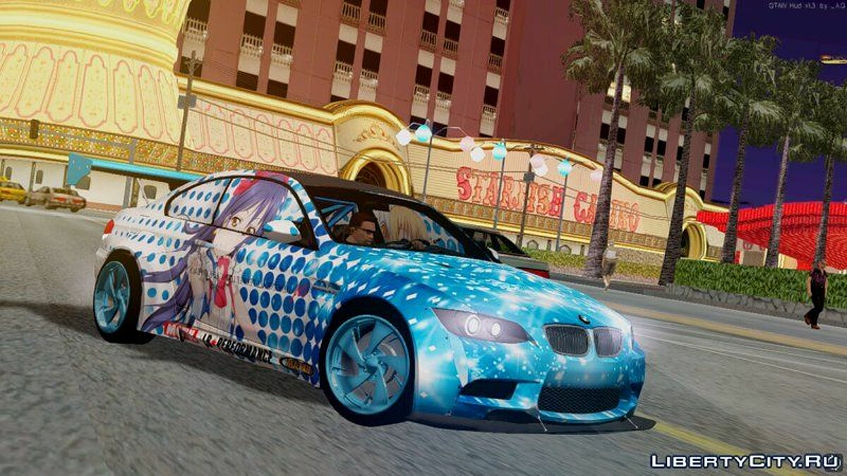 Машина BMW 2010 BMW M3 GTS (E92) Liberty Walk для GTA San Andreas