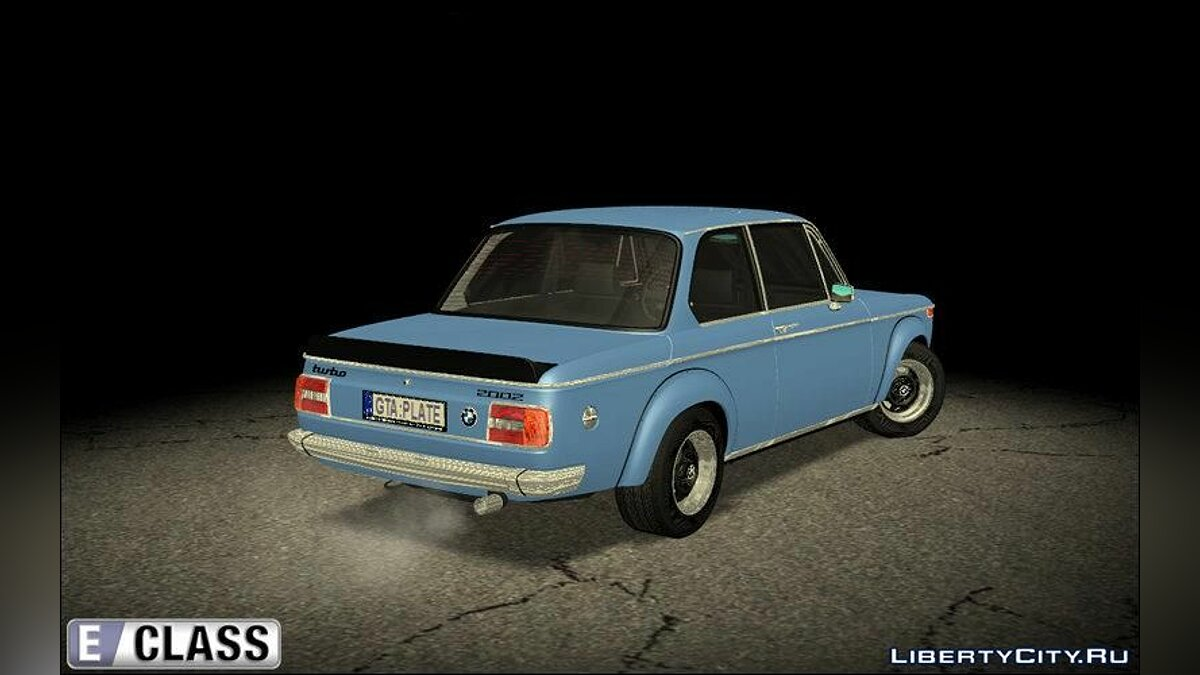 Машина BMW 1973 BMW 2002 Turbo - Stock для GTA San Andreas