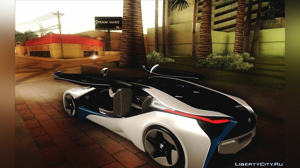 2012 BMW Vision Efficient Dynamics coupe для GTA San Andreas
