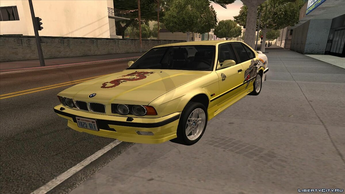 ��ашина BMW 1994 BMW M5 E34 With Tune для GTA San Andreas