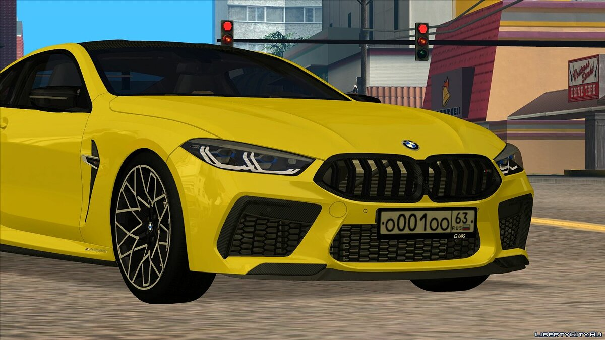 Машина BMW BMW M8 Competition (M-performance kit) для GTA San Andreas